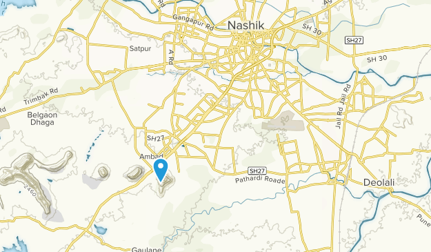 Nashik, Maharashtra Map