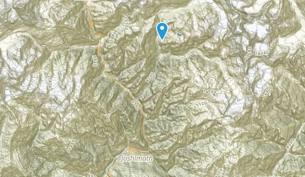 Joshimath, Uttaranchal Map