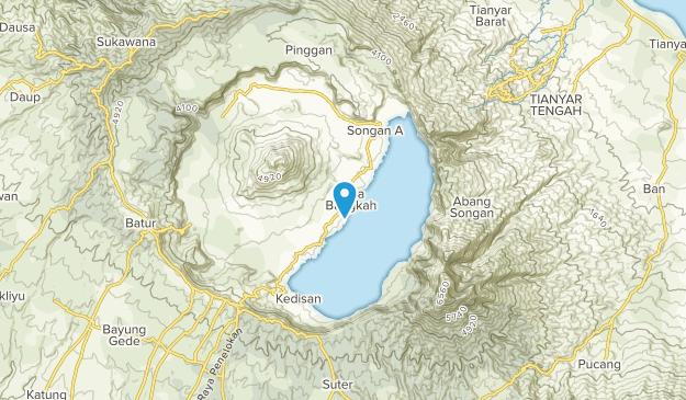 Banjar Toyabungkah, Indonesia Map