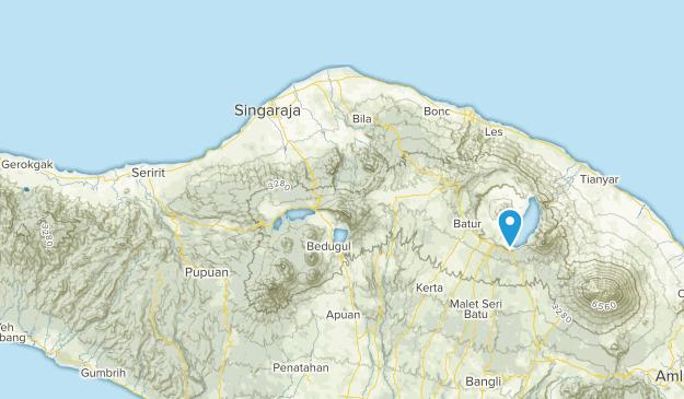 Banjar Jati, Bali Map