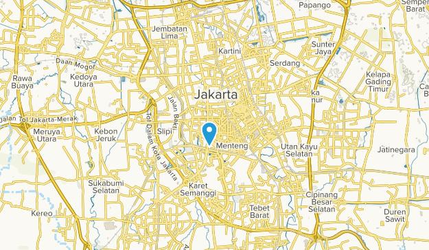 Beste Wege in der Nähe von Jakarta Pusat, Jakarta Indonesien ...