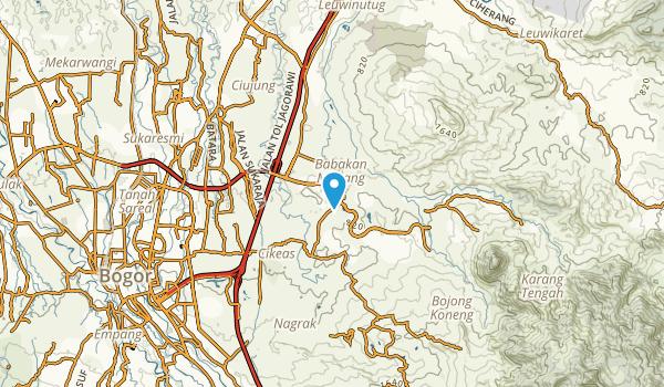 Banceu Tiga, Jawa Barat Map