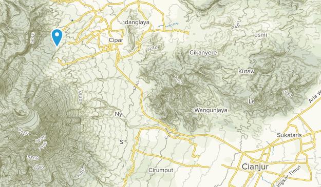 CIANJUR, Jawa Barat Map