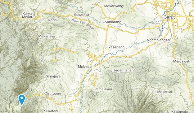 Garut, Jawa Barat Map