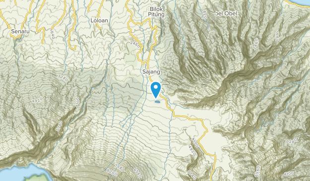 Bawaknao Daya, Lombok Map