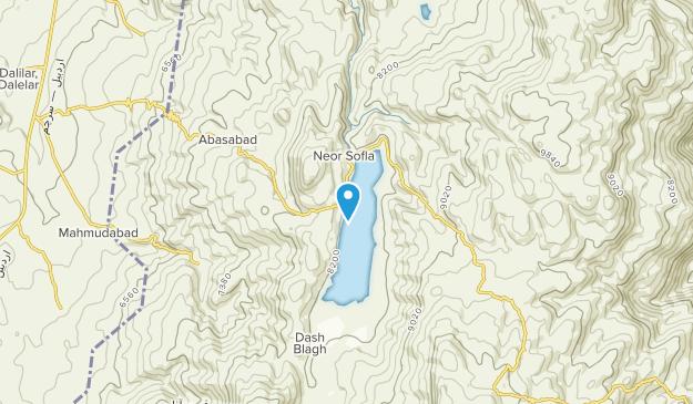 Ardebil, Gilan Map