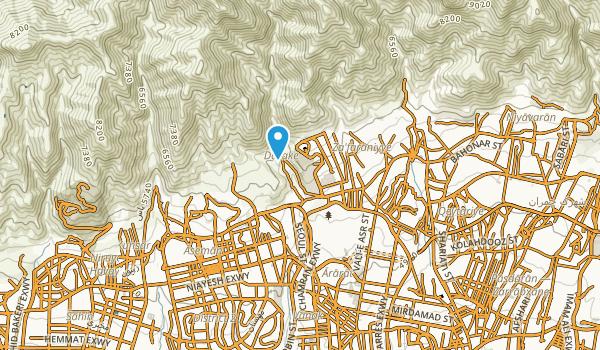 Velenjak-north, Tehran Map