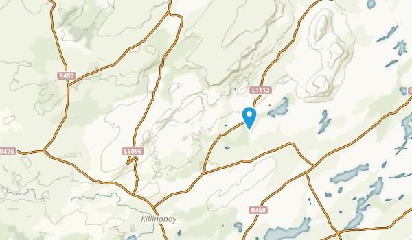 Corofin, Clare County Map