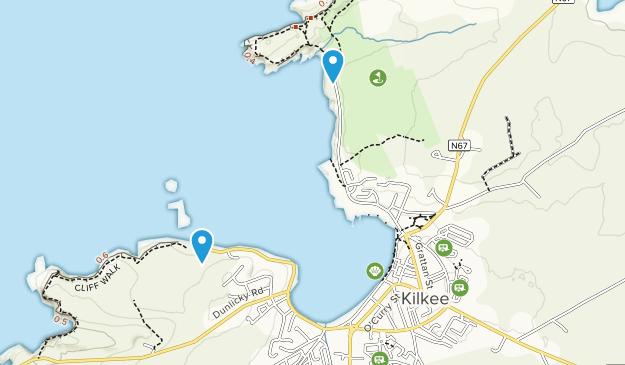 Kilkee, Clare Map