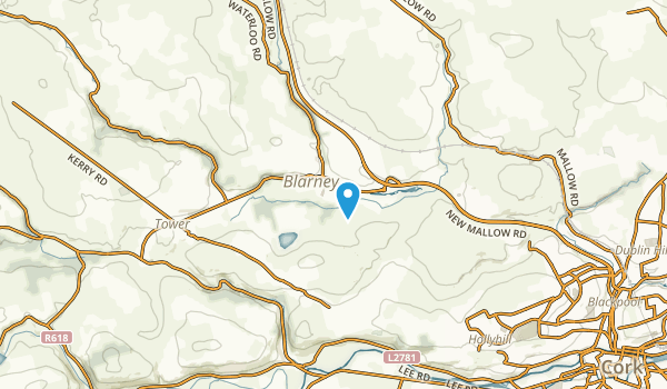 Blarney, Cork Map