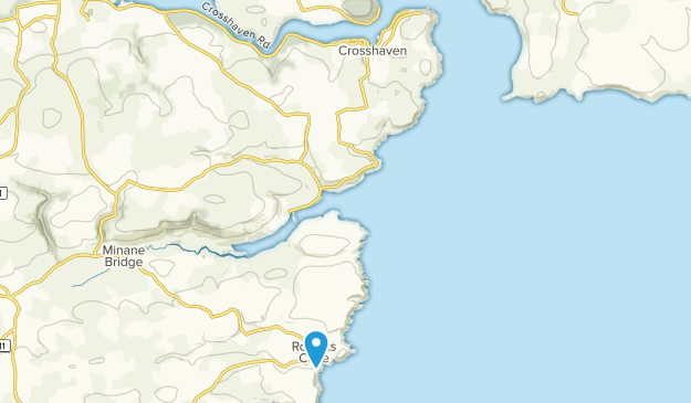 Crosshaven, Cork County Map