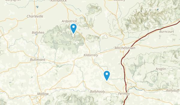Glanworth, Cork Map