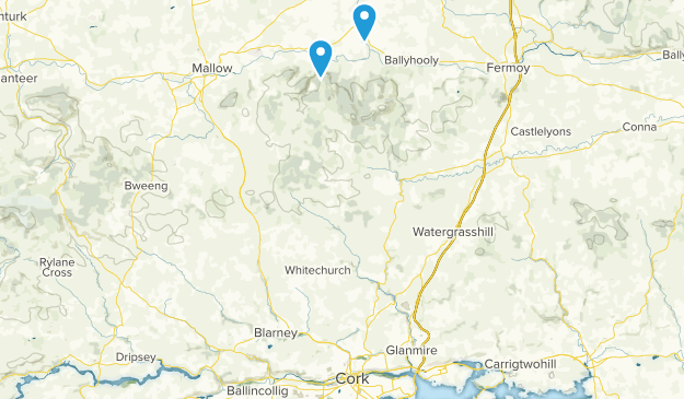 Killavullen, Cork Map