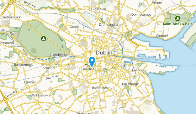 Map Of Ireland Near Dublin.Best Trails Near Store Street County Dublin Ireland Alltrails