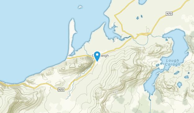 Glenbeigh, Donegal Map