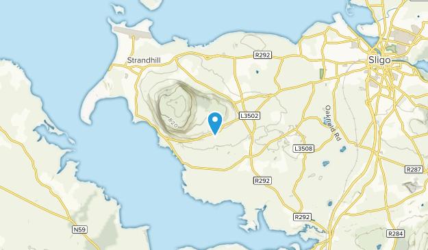 Sligo, Donegal Map
