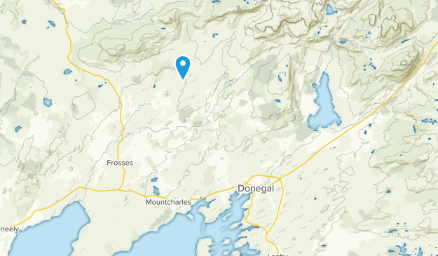 Tullynaglack, Donegal Map