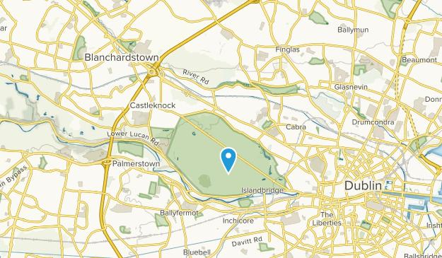 Ashtown, Dublin City Map