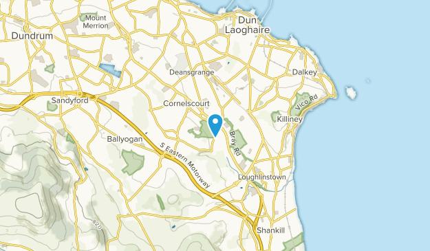 Dublin, Dunlaoghaire-Rathdown Map