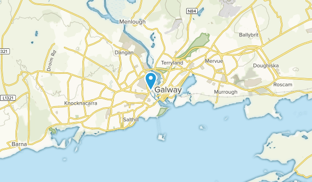 Galway, Galway City Map