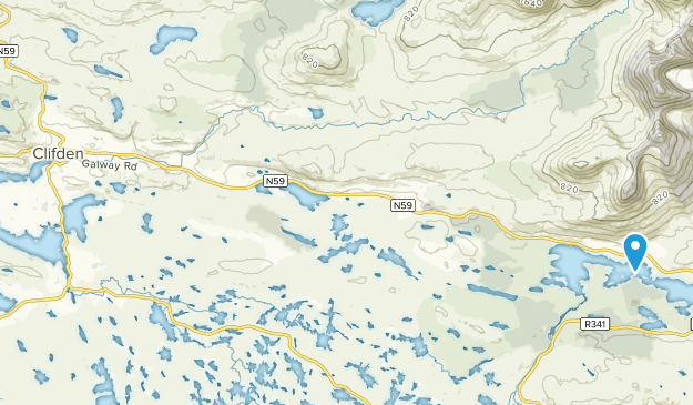 Clifden, Galway County Map