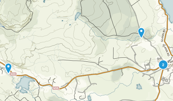 Oughterard, Galway Map