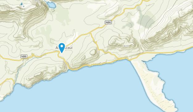 Anascaul [SS], Kerry County Map
