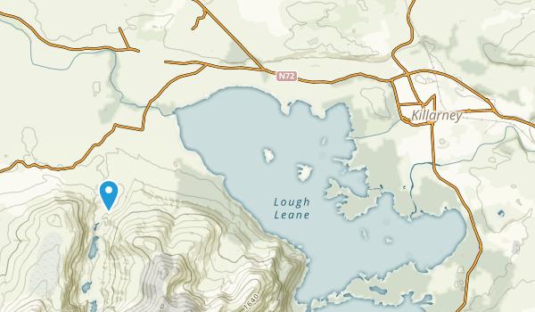 Killarney, Kerry County Map