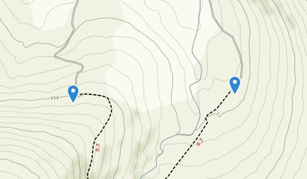 Knocknafreaghaun, Kerry Map