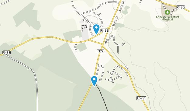 Abbeyleix, Laois Map