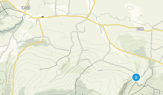 Clonaslee, Laois County Map