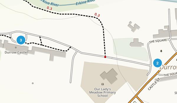 Durrow, Laois Map
