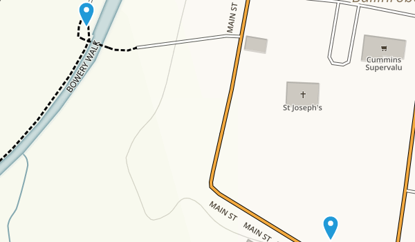 Ballinrobe, Mayo Map