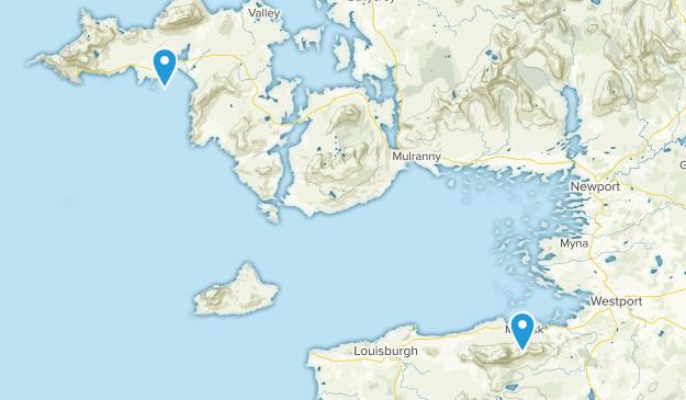 Carrowkeeran, Mayo Map