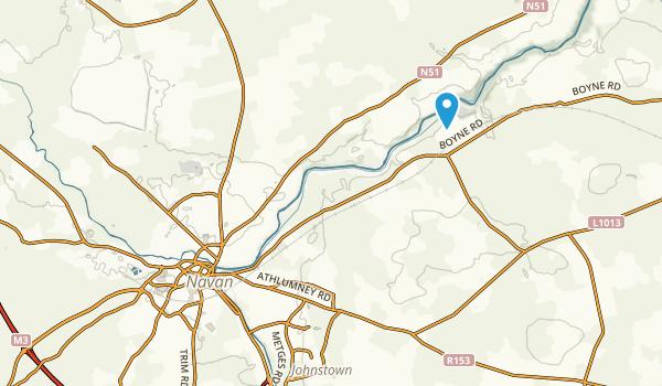 Navan, Meath County Map