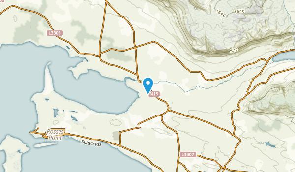 Drumcliff, Sligo Map