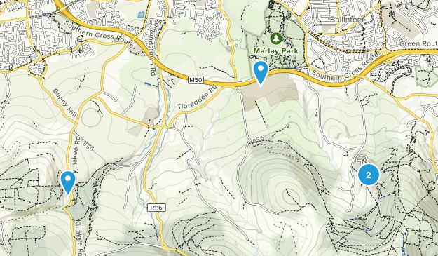 Woodtown, South Dublin Map