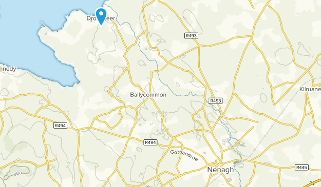 Nenagh, Tipperary County Map