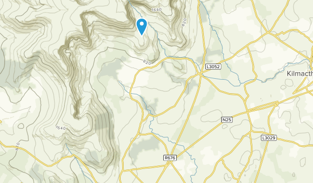 Leamybrien, Waterford County Map