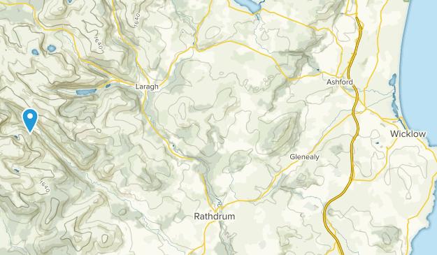 Baravore, Wicklow Map
