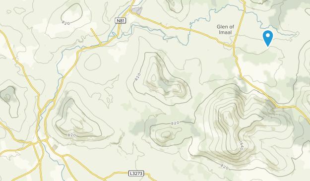 Baltinglass, Wicklow County Map