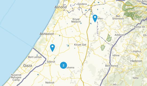 Ashqelon, HaDarom Map