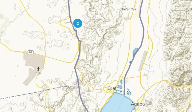 Eilat, HaDarom Map