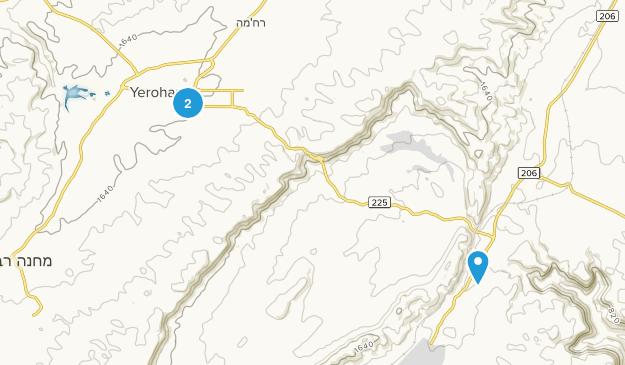 Yeroẖam, HaDarom Map