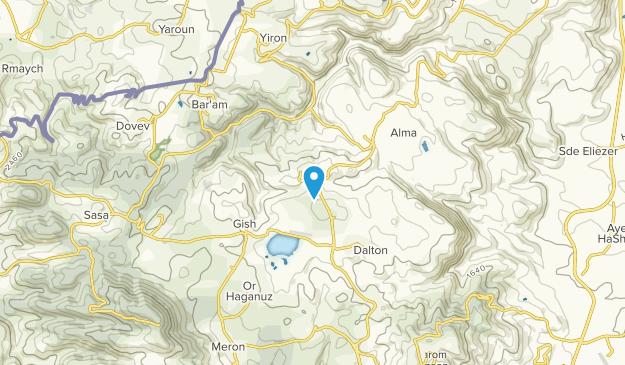 כרם בן זמרה, HaZafon Map