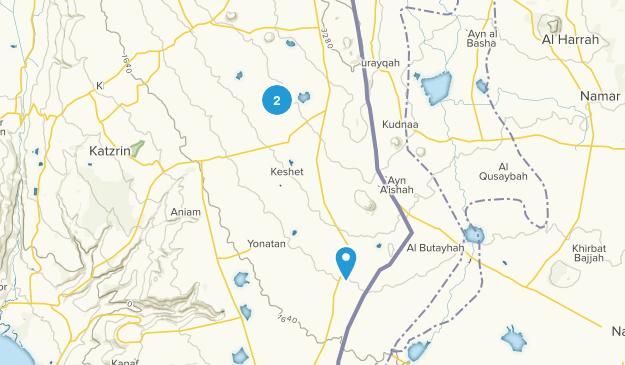 Qunayr, HaZafon Map