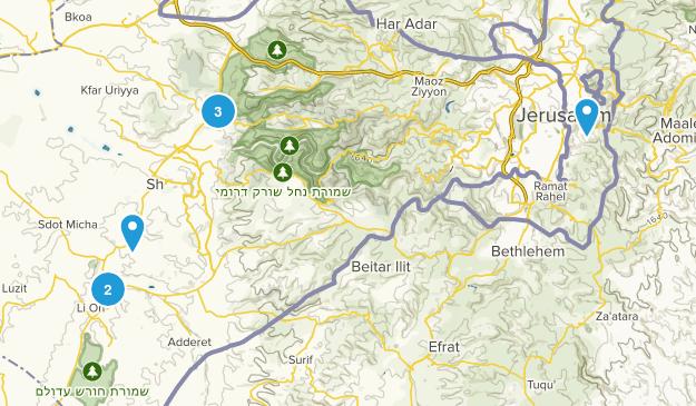 Jerusalem, Jerusalem Map