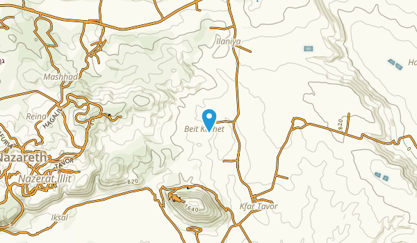 Kinneret, Northern Map