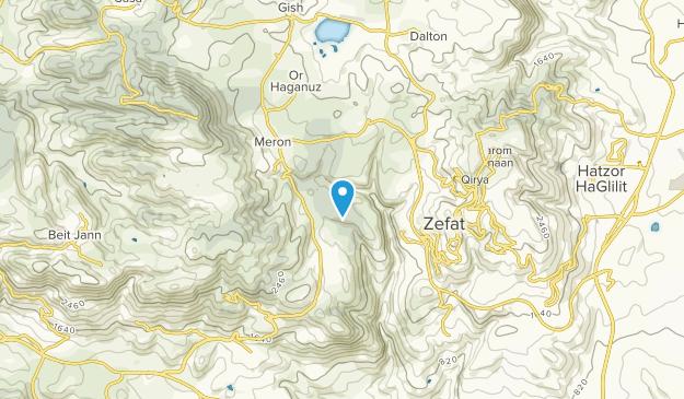 Zefat, Northern Map