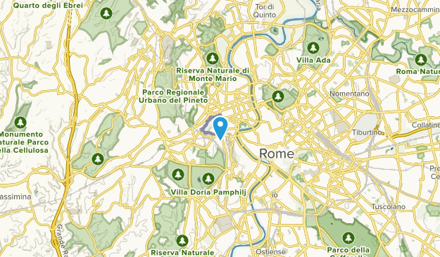 Città del Vaticano, Italy Map